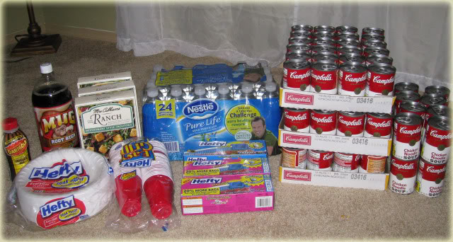 couponing groceries campbells