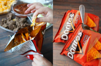 Doritos Taco Salad in a Bag!