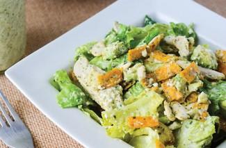 Chicken Tortilla Salad With Cilantro Dressing