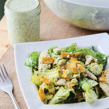 Chicken Tortilla Salad | happymoneysaver.com