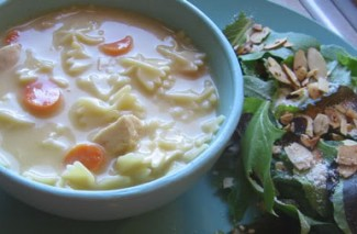 Frugal Food: Creamy Chicken Noodle Soup