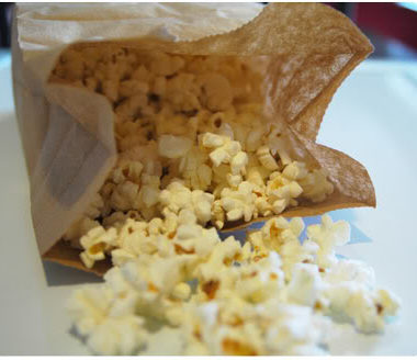Thrifty Tip: Make Your Own Microwave Popcorn