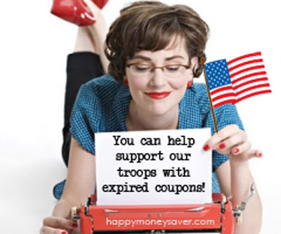 Military address to send expired coupons