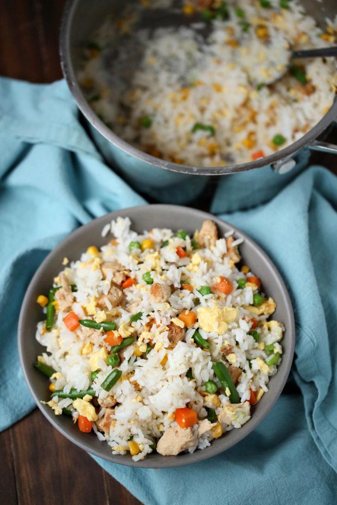 Easy Chicken Fried Rice | Happy Money Saver