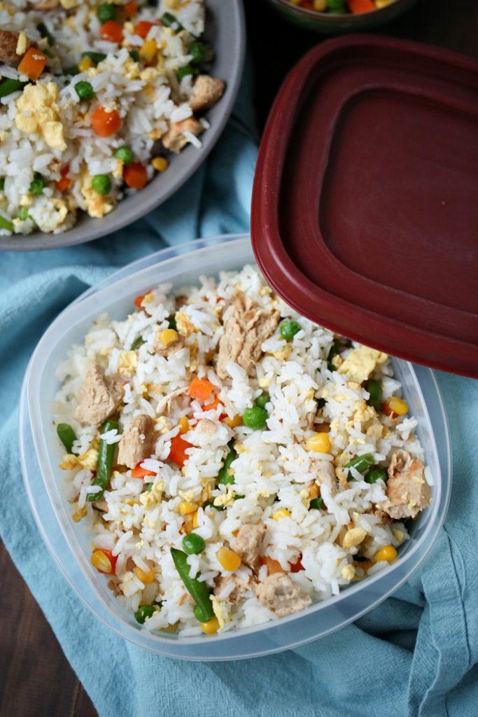 Fried Rice Freezer Meal