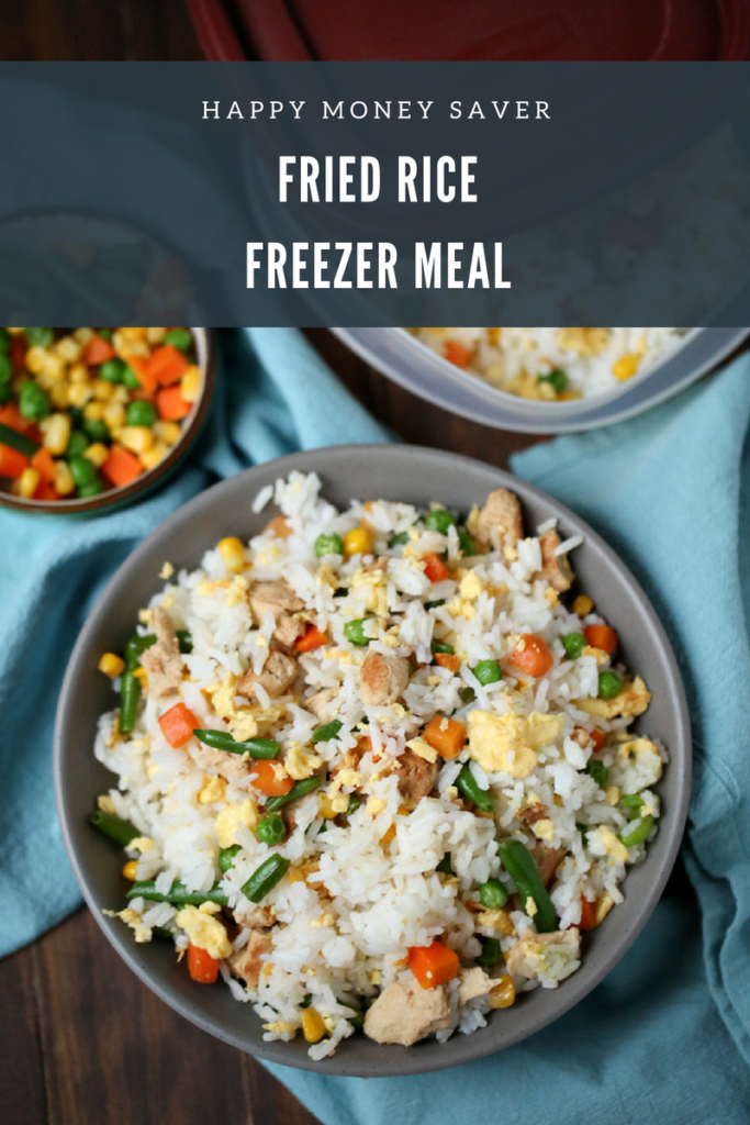 Easy Fried Rice Freezer Meal Happy Money Saver