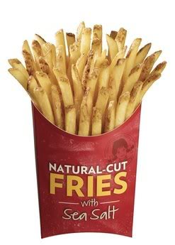 print off a coupon for a free wendys natural cut fries with sea salt make sure and wait for the wendys ad page to load until it says get your free fries