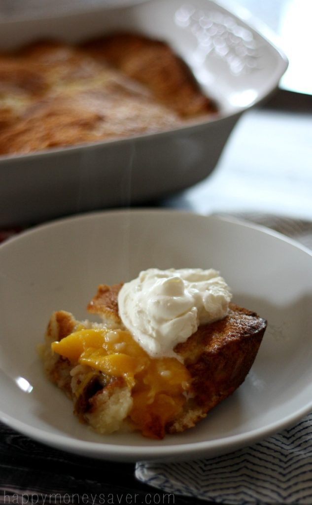 The Best Peach Cobbler Recipe ever. Great balance of flavors with a buttery crust, a sweet soft center and juicy tart peaches. It's Just like Andy's Cafe.