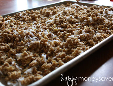 Frugal Recipe: Homemade Granola