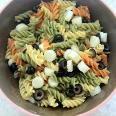 Frugal Recipe: Pasta Salad