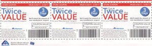 Albertsons Double Coupons