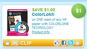Hewlett Packard Color Lock Paper 879 Use 75 Off Staples Coupon Stack 1 HP Printable Final Price 108 After Both Coupons