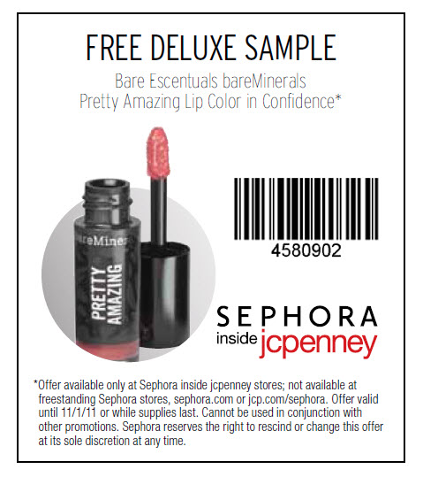 Sephora penneys coupon