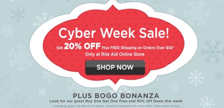 5dcc5b9e163 Rite Aid  New Season of Savings Promotion + Cyber Week Deals ...