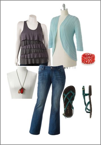 Plus Size Trendy Outfits 40