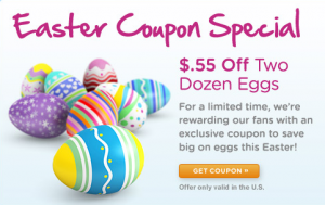*Hot!* $0.55/2 Eggs Printable Coupon
