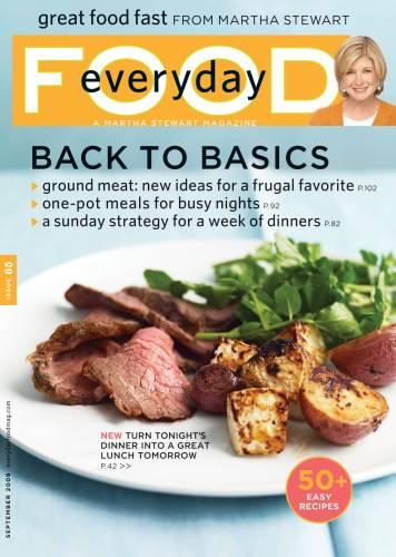 Free Subscription To Martha Stewart Everyday Food Magazine Happy Money Saver
