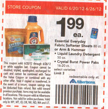 Arm and hammer coupons 2019