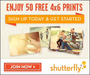 Get 1 Free Card. Receive a free card from Shutterfly with this promo code now! Choose from one free tri-fold, 6x8 flat, 5x7 flat, 5x5 flat, 4x8 flat, or 5x7 folded card on signature cardstock. See site for details.