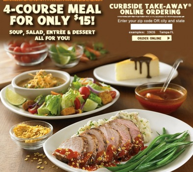 image regarding Outback Printable Menu known as Outback Steakhouse 4 Training course Dinner $15 Satisfied Dollars Saver