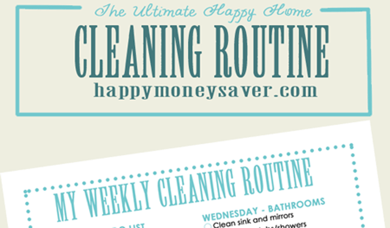 graphic relating to Free Printable Cleaning Schedule known as My Supreme Joyful Residence Cleansing Program Additionally Cost-free Printable
