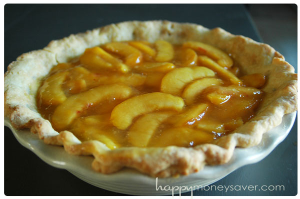 Secret Ingredient Fresh Peach Pie recipe - just like the Amish make!