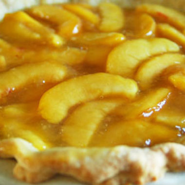 World's BEST Fresh Peach Pie Recipe