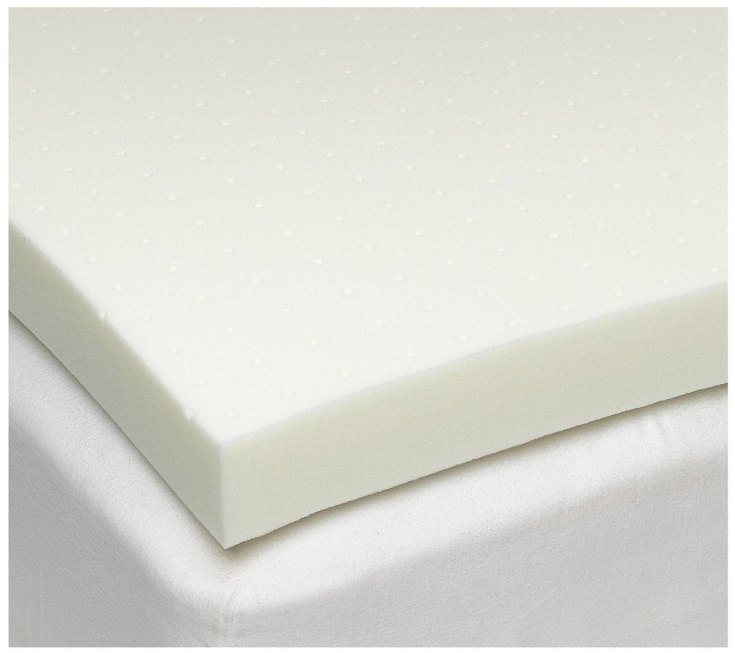 Sleep Studio 4 Inch Ventilated Memory Foam Mattress Topper 6705