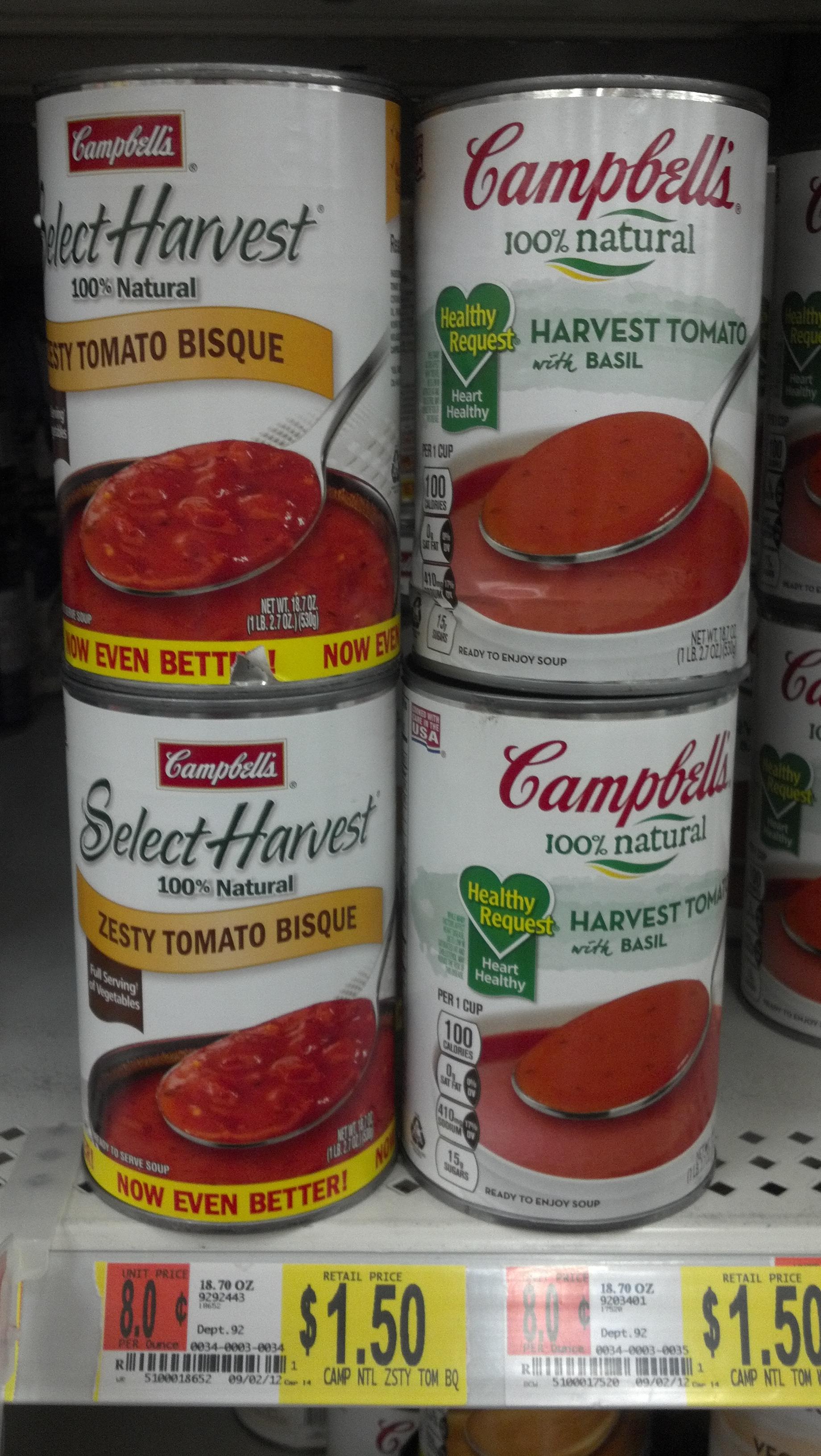 Soup coupons