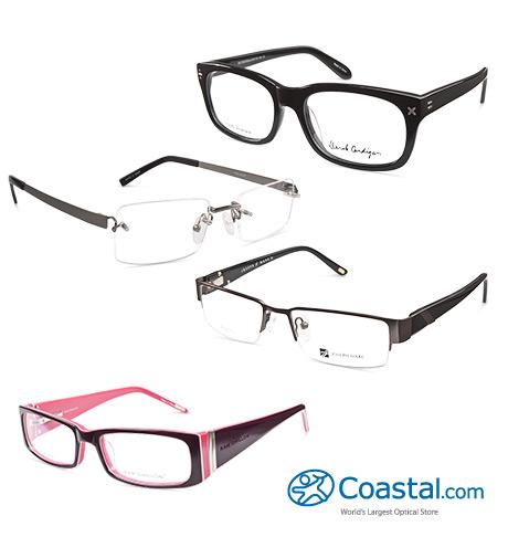 coastal free pair of prescription glasses new