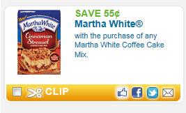 martha white coupons
