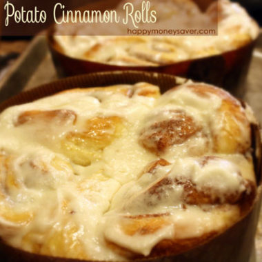 Country Potato Cinnamon Rolls Recipe