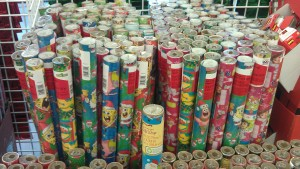 FREE Wrapping Paper with printable coupon at The Dollar TREE