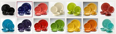 The Fiesta 5-pc place settings are on sale for $24.99 (reg $50) plus you will get 15% off and earn Kohls cash. There are tons of colors to choose from  sc 1 st  Happy Money Saver & Kohls Fiesta Dinnerware (4) 5-pc settings for just $69.97 shipped ...