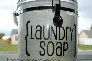 Homemade Laundry Detergent - Happymoneysaver.com