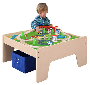 This is so cute and I know a lot of little guys out there that would LOVE one of these. Go to Walmart.com where you can get this 45 piece Train Table Set ...  sc 1 st  Happy Money Saver : walmart table set - pezcame.com