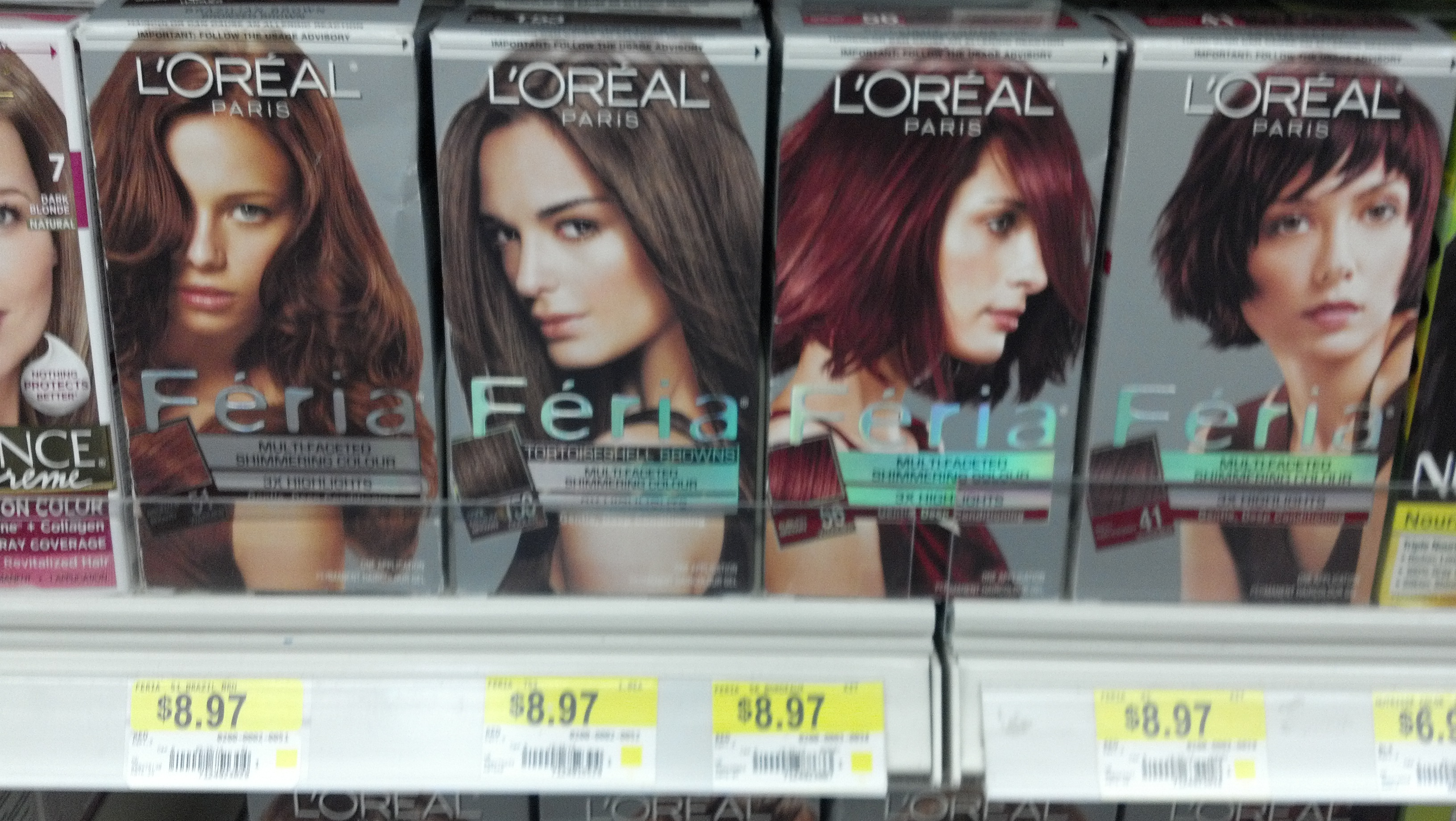 Loreal Feria Hair Color Only 597 At Walmart After New Coupon