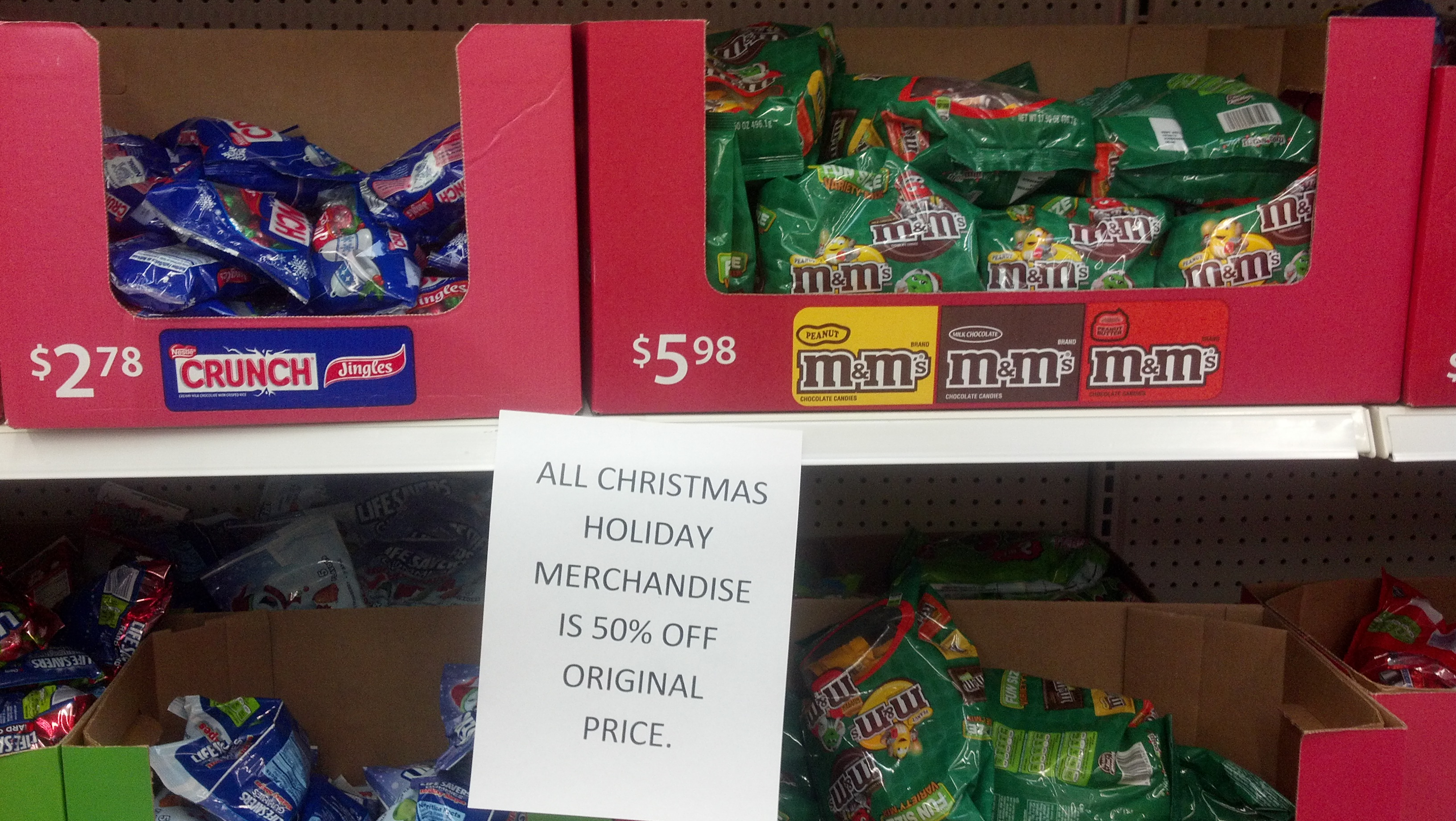Wow* Holiday Candy 50% at Walmart, even better with coupons ...