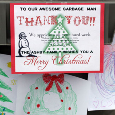 Happy Thoughts: Thanking the Garbage Man