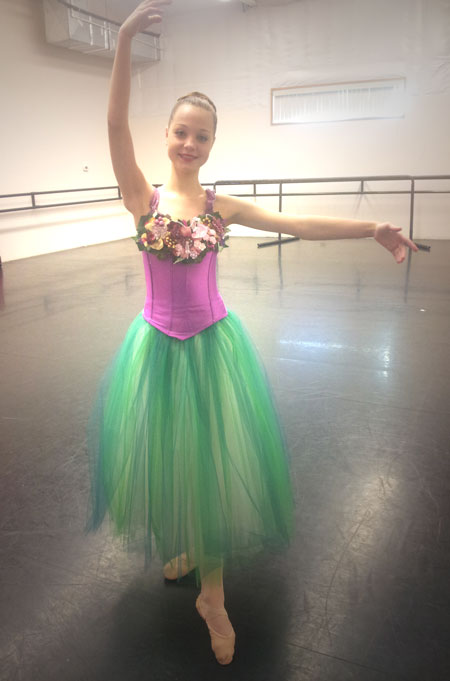 Mid columbia ballets the nutcracker ballet this weekend locals here she is trying out one of her costumes this year she is so excited solutioingenieria Images