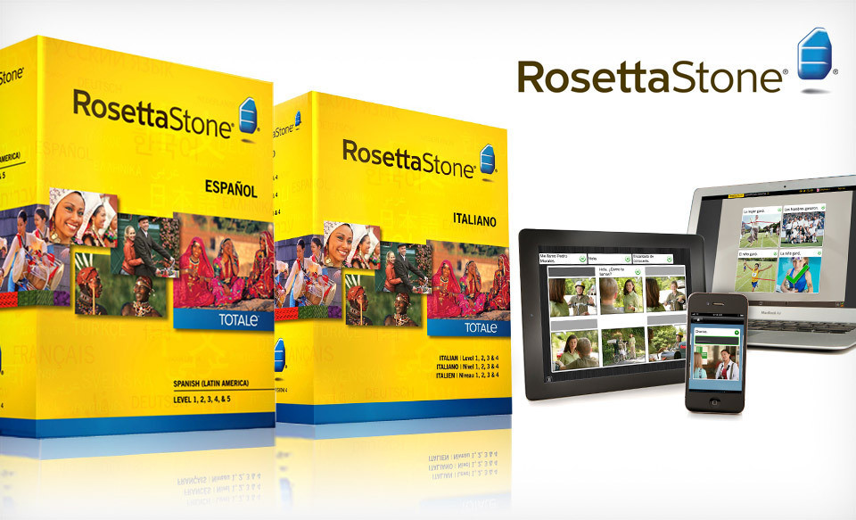 Groupon: Rosetta Stone only $249.99 shipped (Choose ... Rosetta Stone Totale