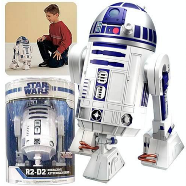 Star Wars R2-D2 Interactive Astromech Droid Robot only $99 (reg $250!) + free shipping