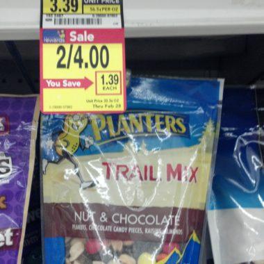 FREE Planters Trail Mix, Greek Yoplait + More Albertsons Doubler Deals!