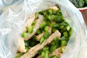 Slow Cooker Chicken Broccoli Alfredo Freezer Meal