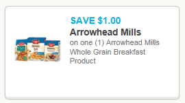 NEW Arrowhead Mills Breakfast Coupon = FREE at Whole Foods & Albertsons