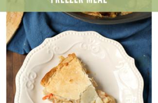 Frugal Food: Homemade Chicken Pot Pie {Freezer Meal}
