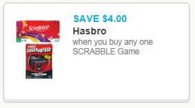 Scrabble Coupon
