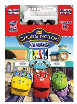 Chuggington Chugger Championship Limited Edition Dvd With