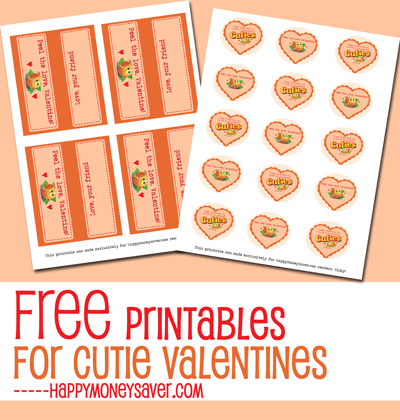 Cutie Valentines Day Free Printable