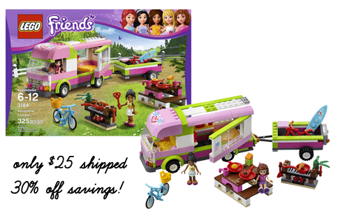 lego friends bus